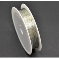 Sarma modelaj argintiu rola 0.4 mm